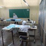 Se elaboraron 19.000 barbijos y 500 kits sanitarios en las cárceles bonaerenses
