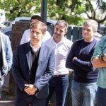 Kicillof se reunió con comités de emergencia municipales en el Conurbano