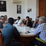 Carmen de Patagones: Zara se reunió con los gremios y autoridades de salud