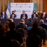 Kicillof presentó junto a Alberto Fernández un plan de obras de infraestructura municipal