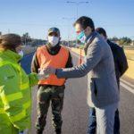 Junin: Petrecca destacó el trabajo de las fuerzas de seguridad en los controles en los accesos