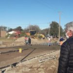 Carmen de Patagones: Zara recorrió el último tramo de la obra de Boulevard Moreno