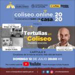 El conversatorio virtual del Coliseo Podestá trae a Diego de Miguel y Braian Kobla