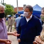 Galmarini y Cascallares inauguraron redes de agua que beneficiarán a 15 mil personas