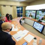 Fernández  anunció la presentación del programa «Municipios de Pie» ante 160 intendentas e intendentes