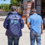 El gobierno provincial fiscaliza el abastecimiento de materiales de la construcción
