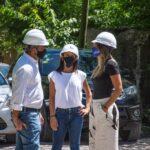 Galmarini recorrió en Tigre la nueva obra de red de agua que beneficiará a 2500 vecinos