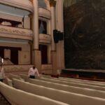 El intendente Gay recorrió las instalaciones del Teatro Municipal de Bahía Blanca