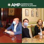 Romero: «Nos ocuparemos de generar estrategias en favor del bienestar de las y los médicos»