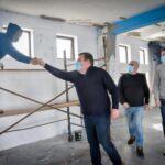 Comenzaron las obras en el gimnasio del Patinódromo Municipal de Mar del Plata