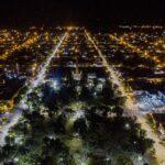 El acceso García Tuñón de Lincoln ya cuenta con luminaria LED